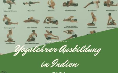 Mein erster Yoga Ausbildungstag in Indien