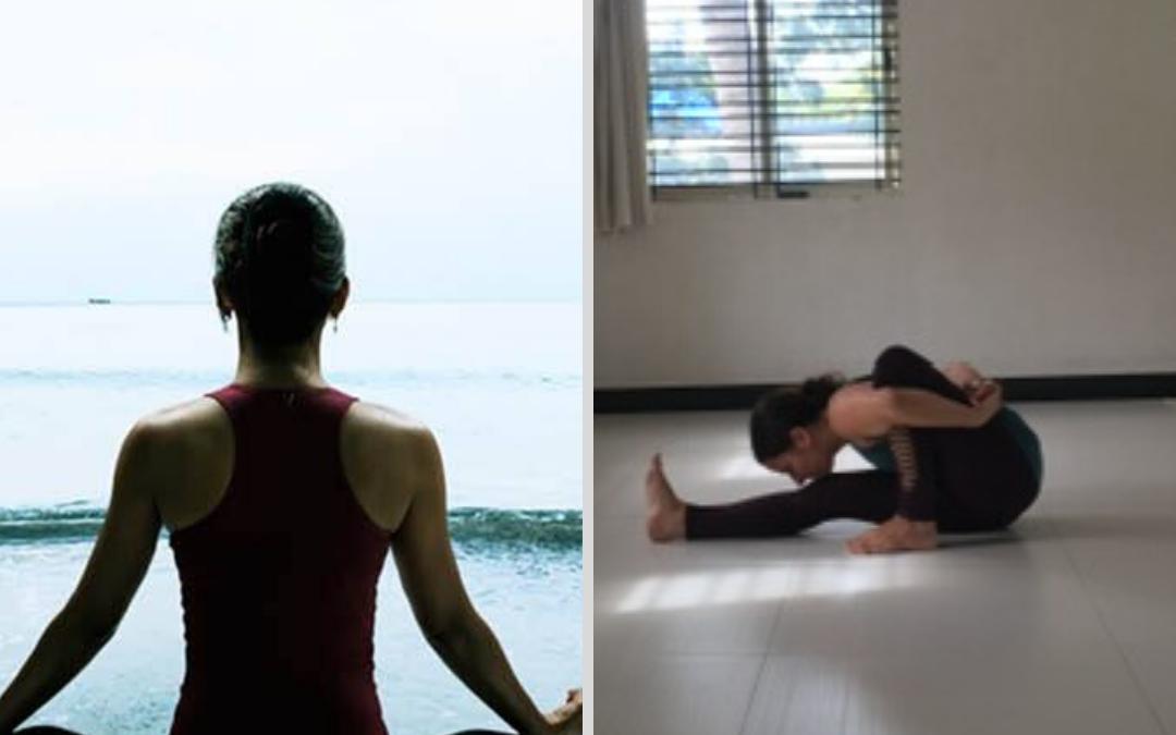 Vergleich westliches und indisches Yoga